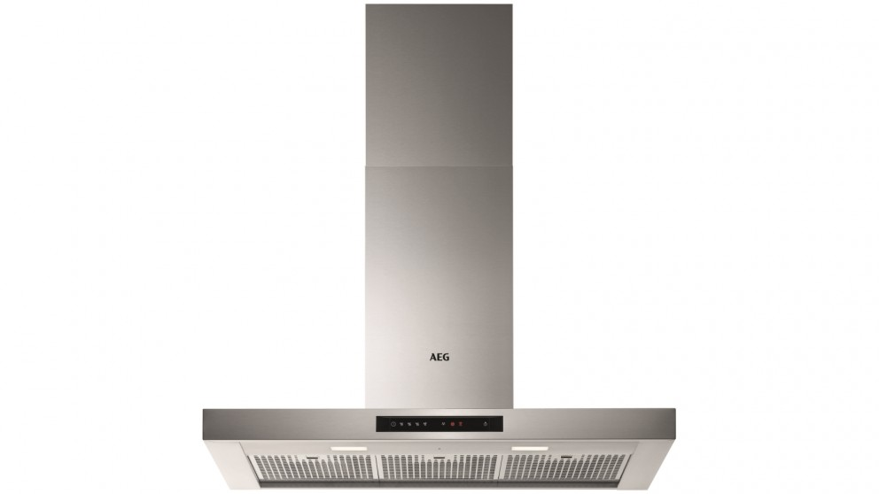 AEG 900mm Wall Canopy Rangehood with Touch Control