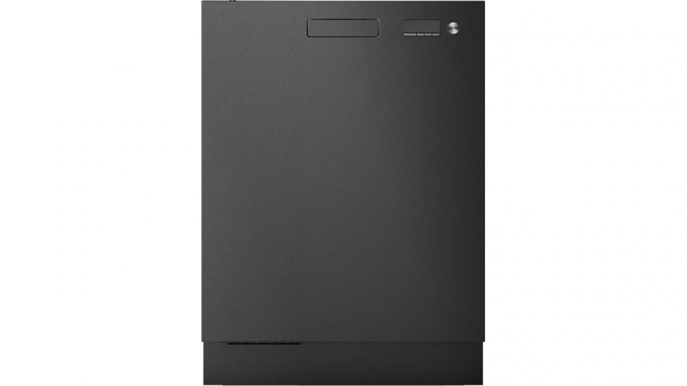 Asko 15-Place Setting Turbo Drying Built-in Dishwasher - Black Steel