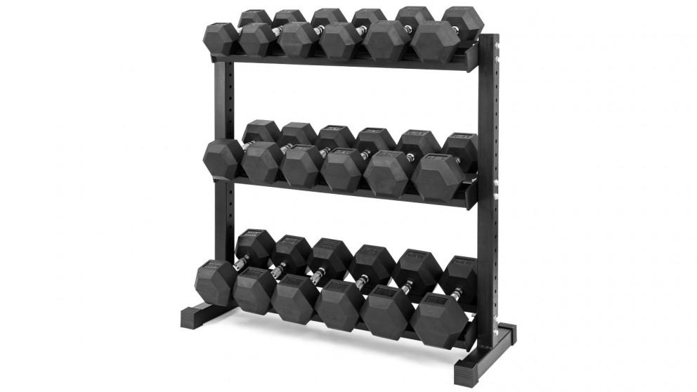 Sumo Strength Heavy Duty Hex Dumbbell Set 12.5-32.5kg