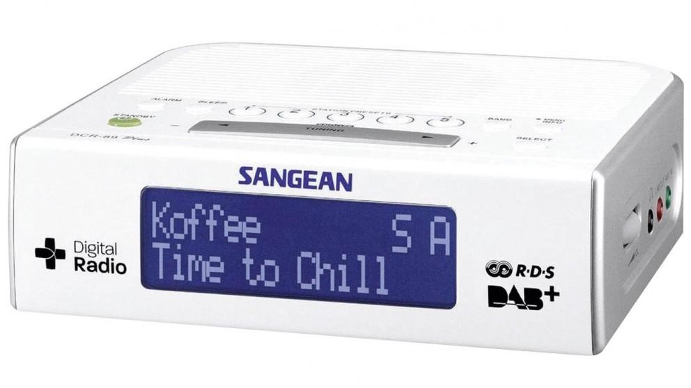 Sangean DCR-89 DAB+/FM-RDS Digital Clock Radio