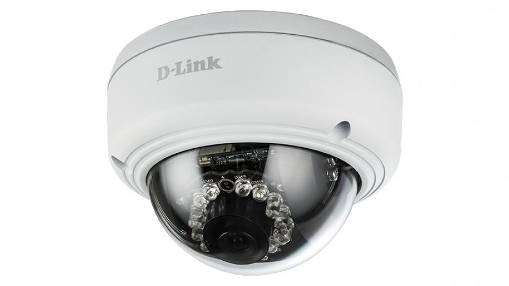 D-Link Vigilance Full HD Outdoor Vandal-Proof PoE Dome Camera