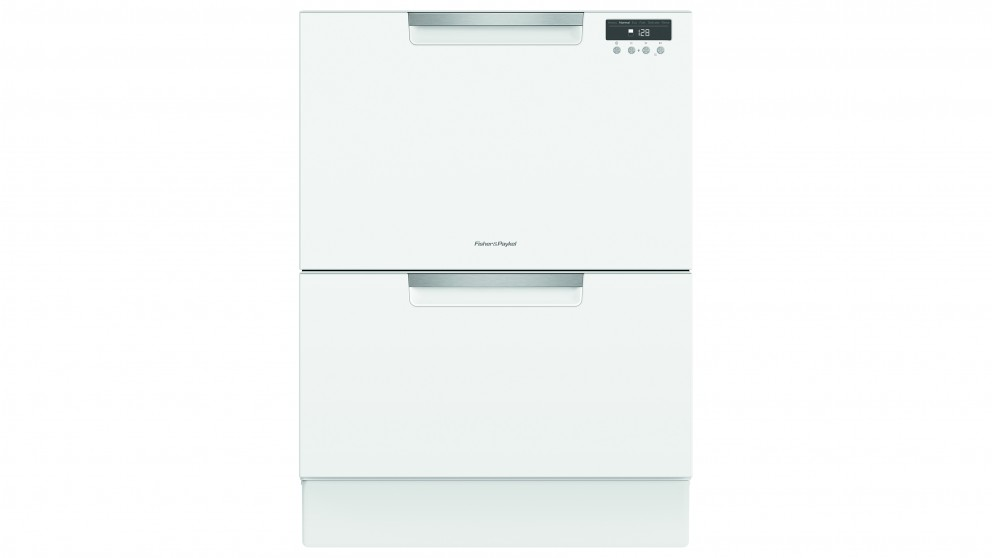 Fisher & Paykel DD60DAW9 60cm Double DishDrawer Dishwasher - White