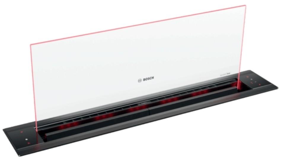 Bosch 80cm AccentLine Glass Downdraft Rangehood