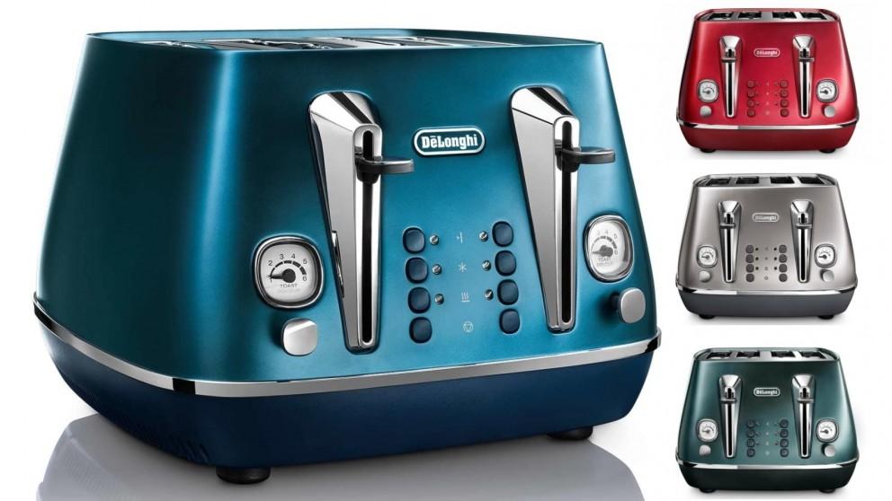 DeLonghi Distinta Flair 4 Slice Toaster