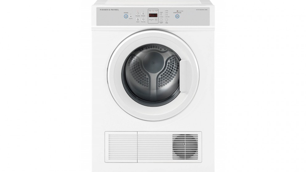 Fisher & Paykel 6Kg Sensor Vented Dryer - White