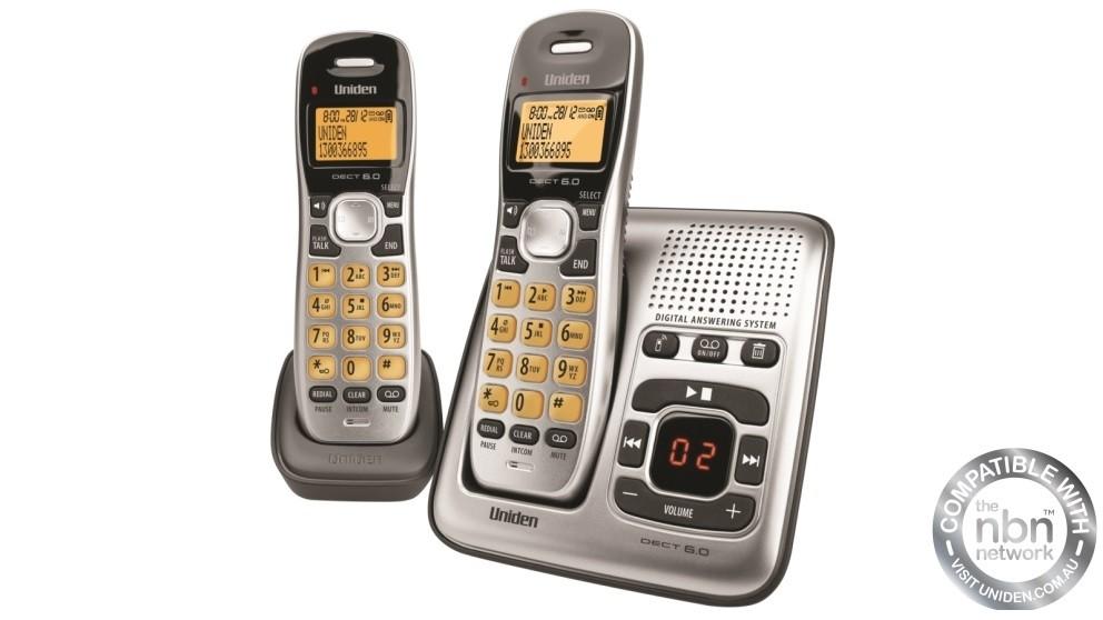 Uniden DECT 1735+1 Cordless Phone System