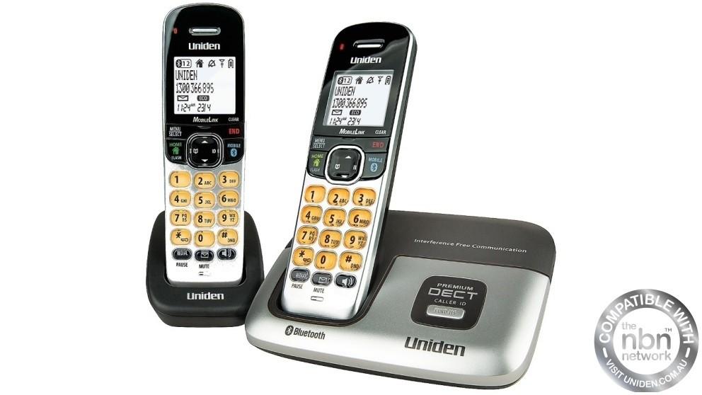Uniden DECT3216+1 Premium Digital Cordless Phone