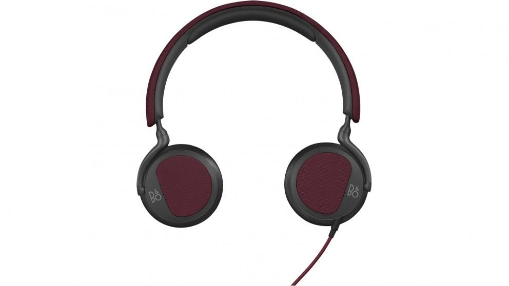 B&O PLAY Beoplay H2 Flexible On-Ear Headphones - Deep Red