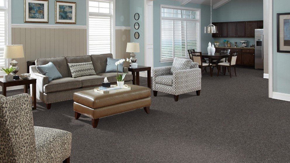 SmartStrand Forever Clean Delightful Charm - Phantom Carpet Flooring