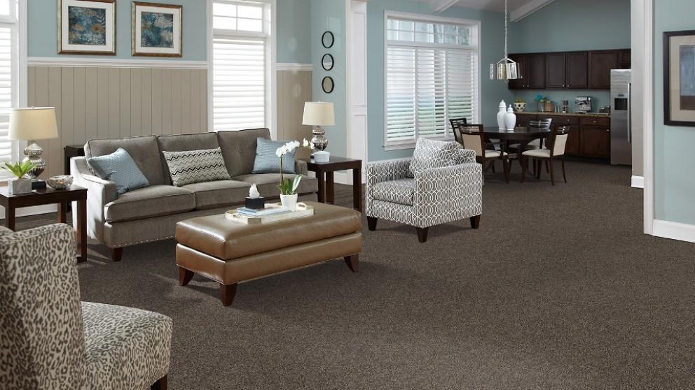 SmartStrand Forever Clean Delightful Charm - Truffle Carpet Flooring