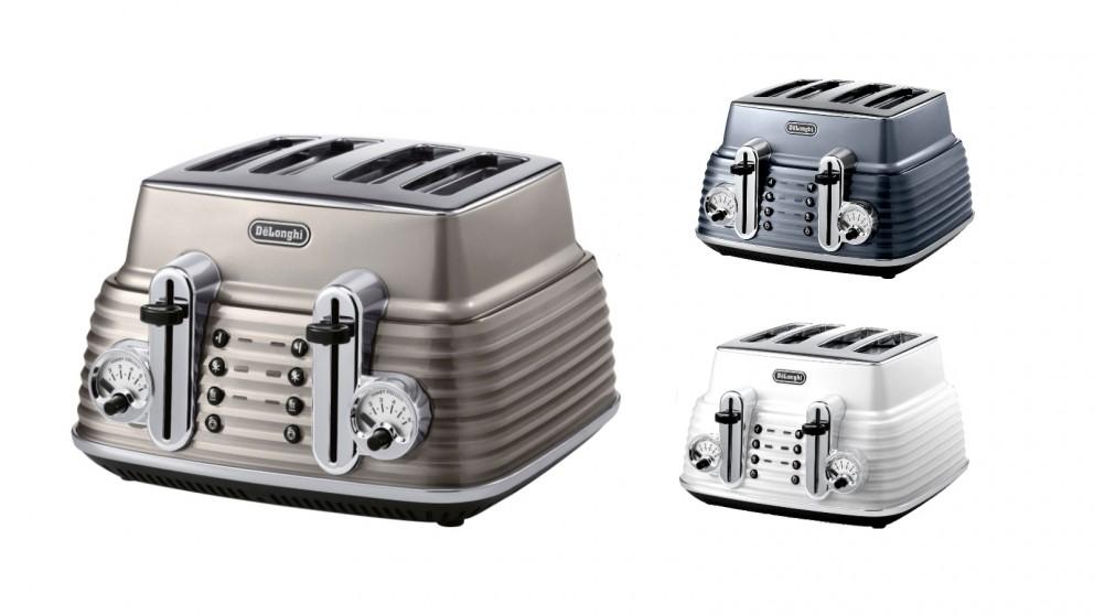 Delonghi Scultura 4 Slice Toaster