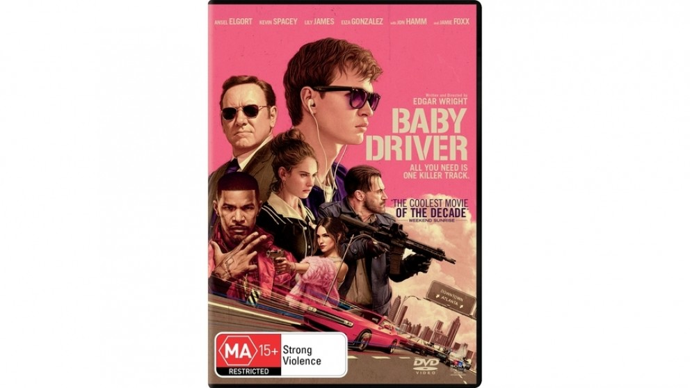 Baby Driver - DVD