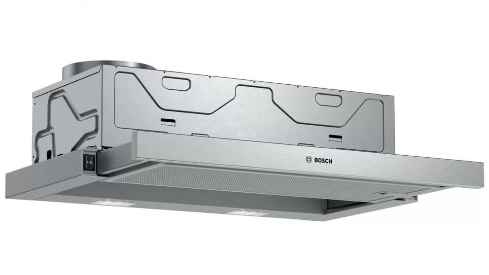 Bosch Series 2 600mm Slide-Out Rangehood - Silver Metallic