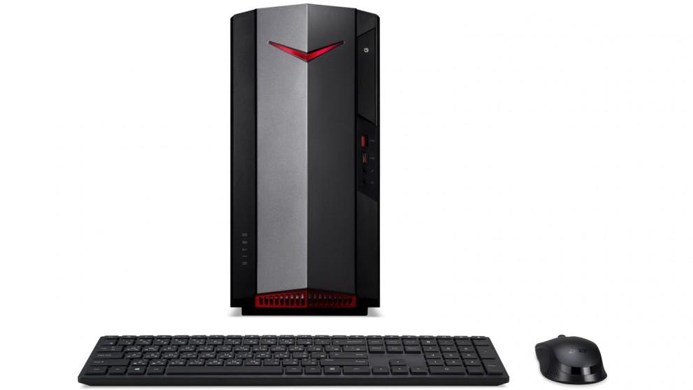 Acer Nitro 50 i5-10400/8GB/256GB SSD + 2TB HDD Gaming Desktop