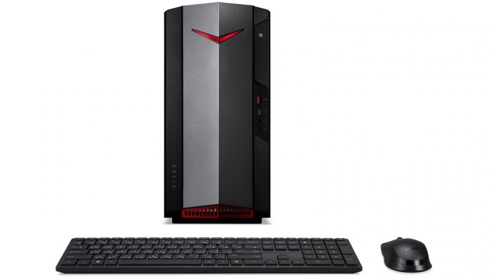 Acer Nitro 50 i7-10700/16GB/256GB + 1TB Gaming Desktop