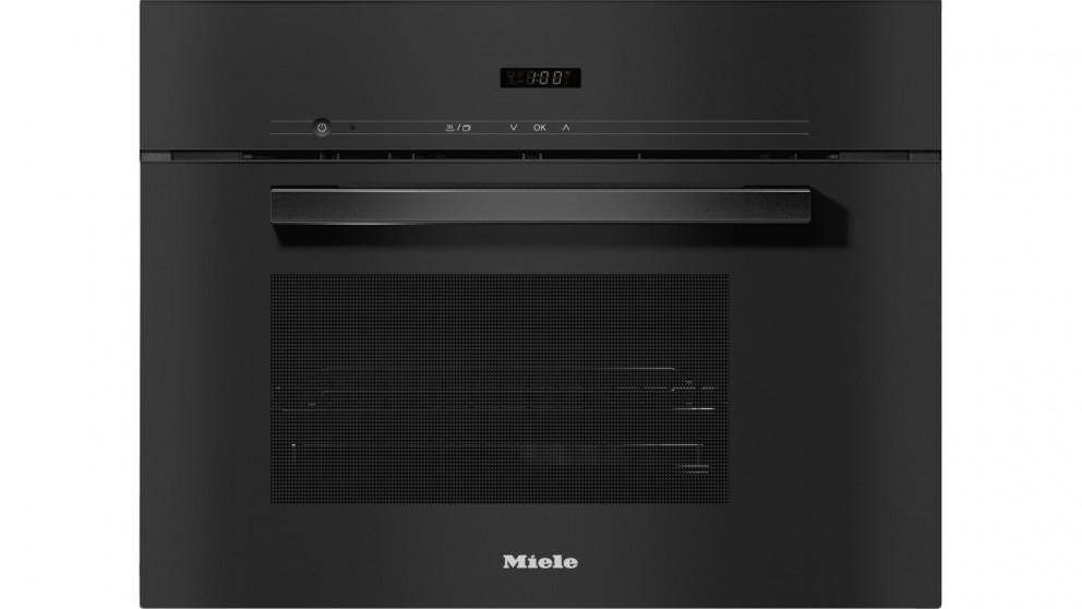 Miele DG 2840 Vitroline Built-in Steam Oven - Obsidian Black