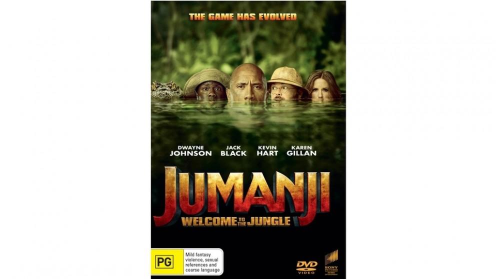Jumanji: Welcome to the Jungle - DVD