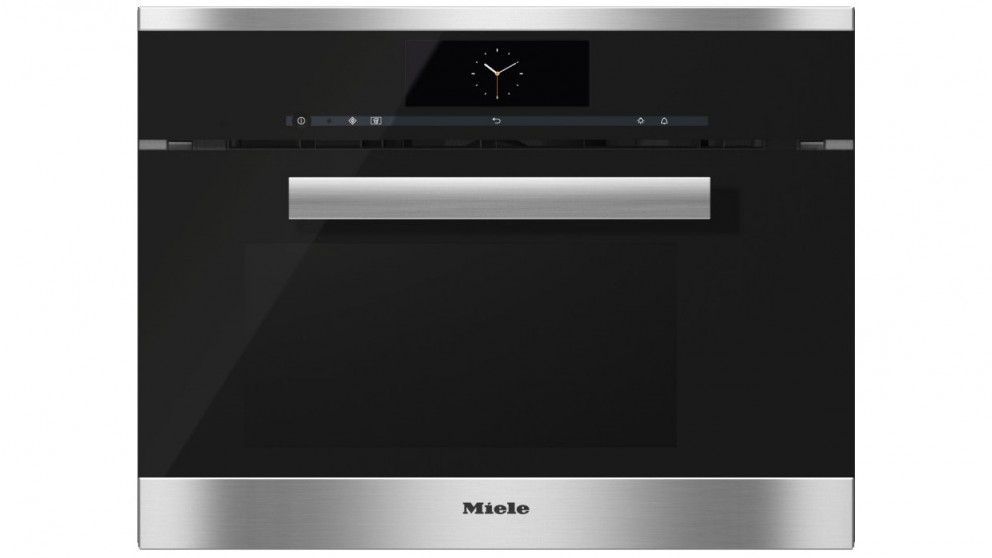 Miele DGM 6800 Steam Oven with Microwave - Clean Steel
