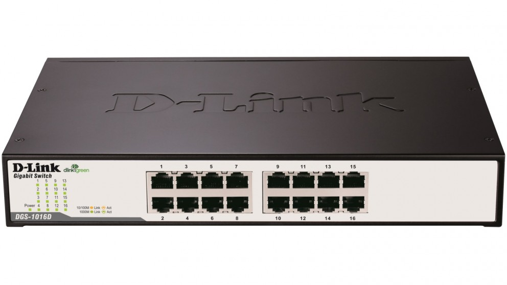 Buy D Link Dgs 1016d 16 Port Copper Gigabit Switch