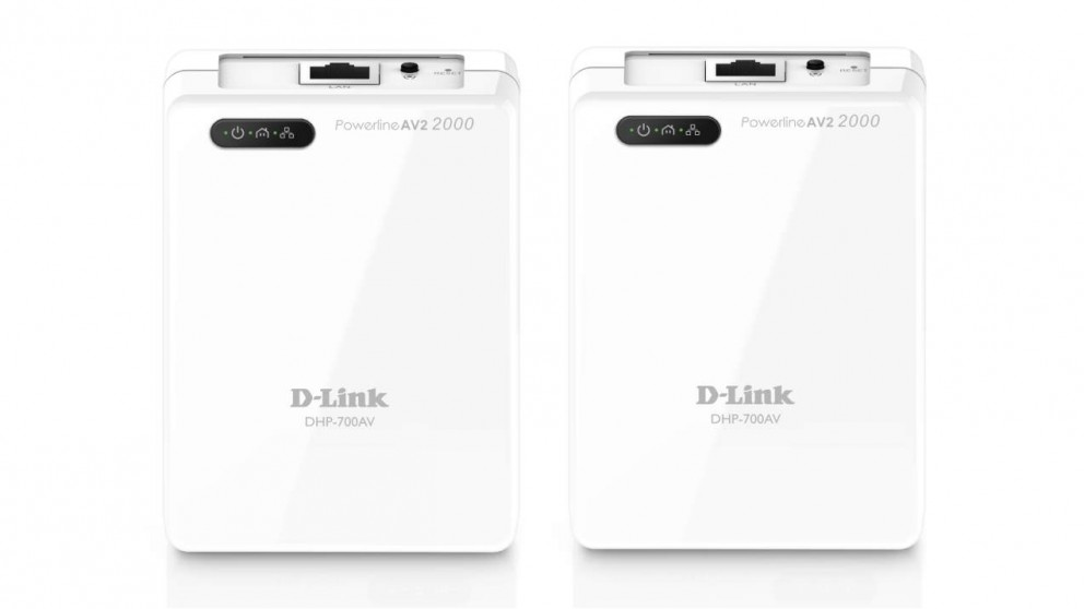 D-link Powerline AV2 2000 Gigabit Network Starter Kit