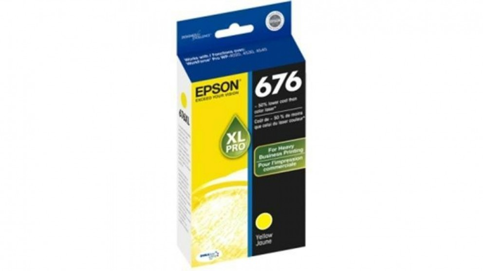 Epson 676XL Ink Cartridge - Yellow
