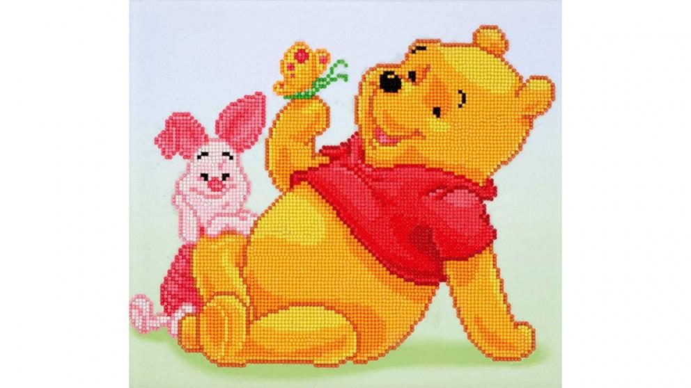 Diamond Dotz Disney Pooh With Piglet 32 X 36cm