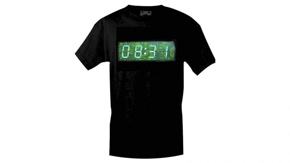 Digital Clock and Stopwatch T-Shirt
