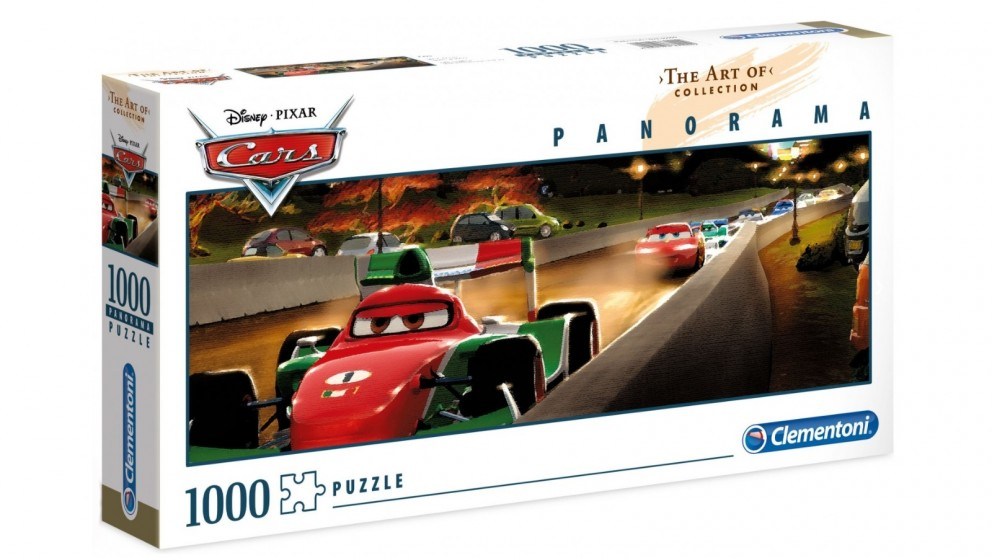 Disney Cars The Art of Collection Panorama 1000 Pieces Puzzle