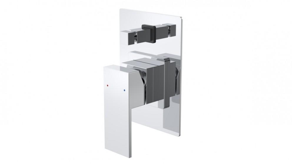 Caroma Quatro Solid Shower or Bath Mixer with Diverter
