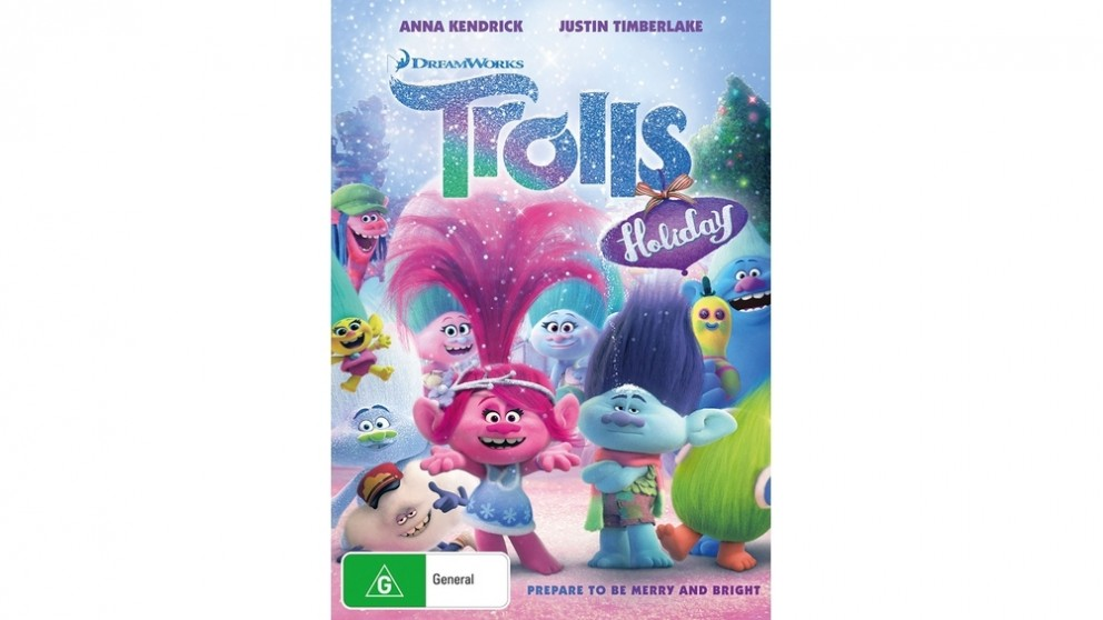Trolls Holiday - DVD