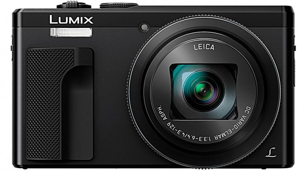 Panasonic Lumix TZ80 18.1MP Travel Digital Camera - Black