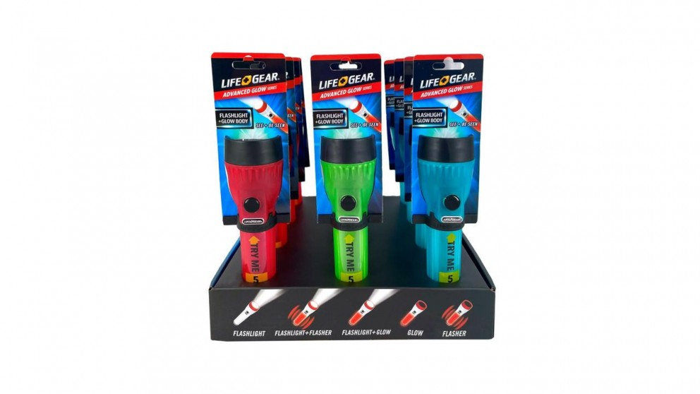 Lifegear Mini FL Retail 12PK