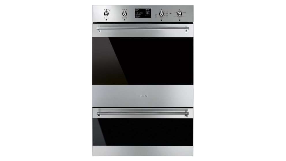 Smeg 600mm Classic Pyrolytic Double Oven