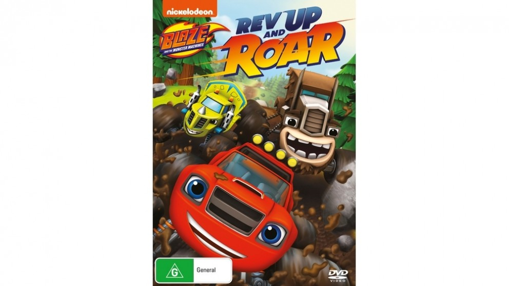 Blaze and the Monster Machines: Rev Up and Roar - DVD