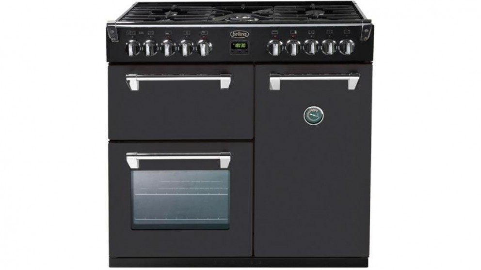 Belling 900mm Richmond Colour Boutique Dual Fuel Range Freestanding Oven - Dramatic Dawn