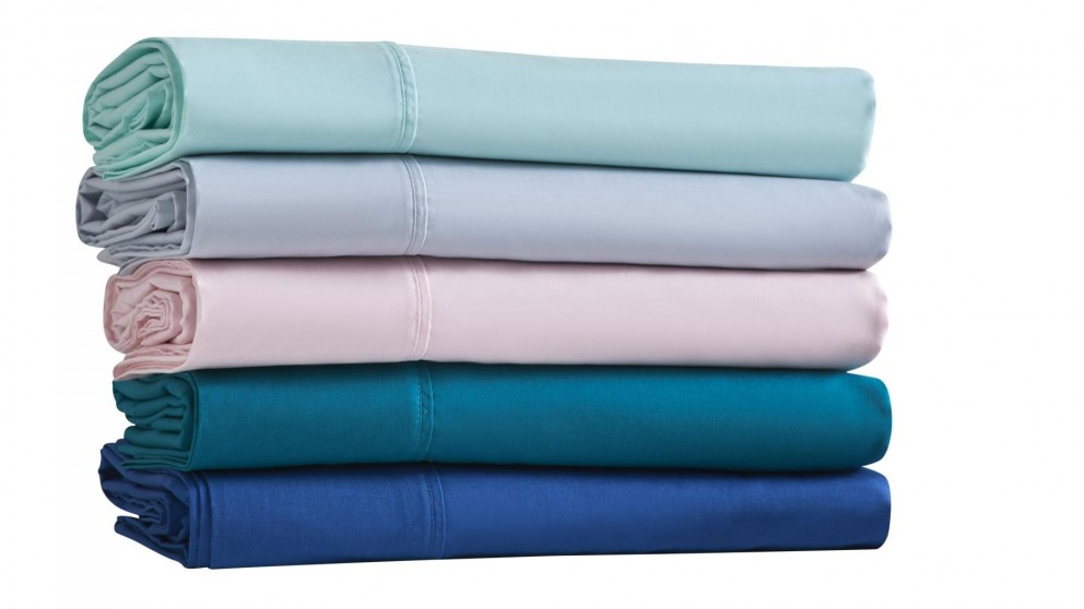 Dreamer 250 Thread Count King Single Sheet Set - Aqua