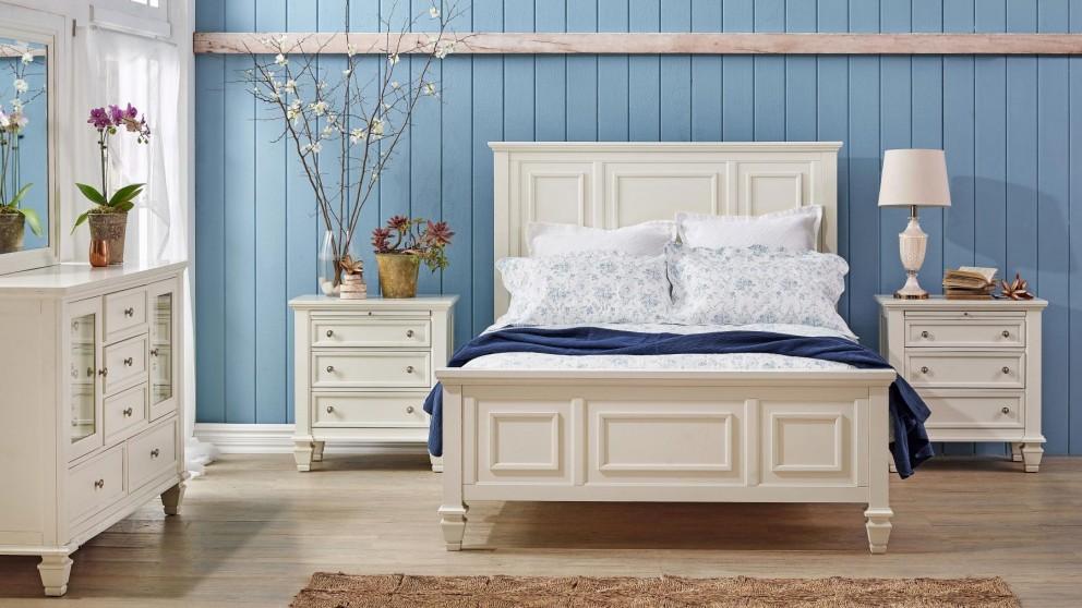 Glenmore 4 Piece King Bedroom Suite with Dresser