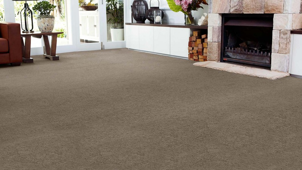 SmartStrand Forever Clean Chic - Dried Peat Carpet Flooring