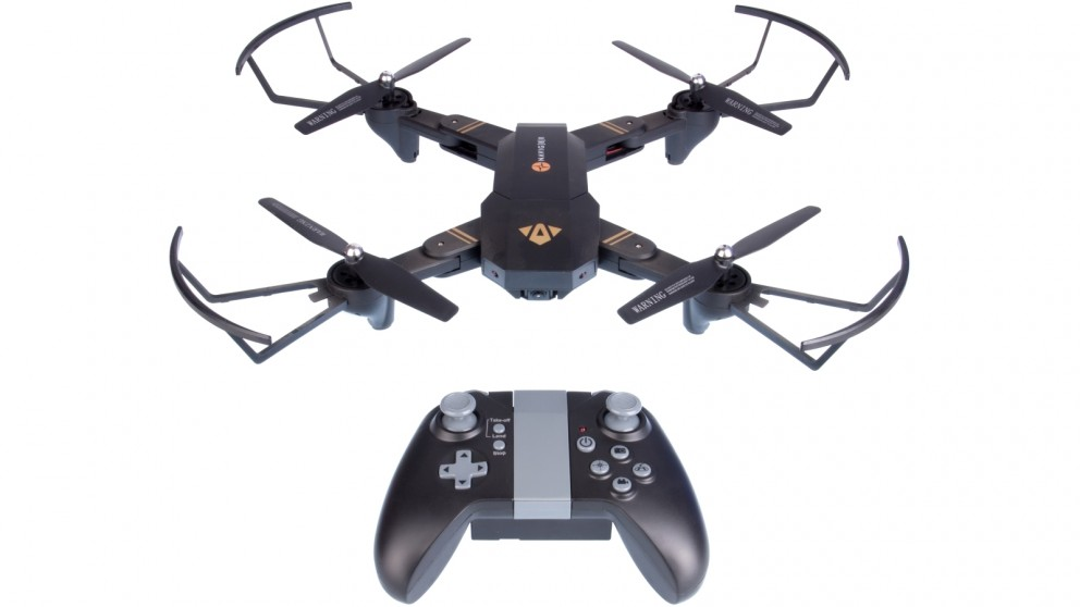 Navig8r 6 Axis Foldable Drone with 1280x720 FPV WiFi Camera