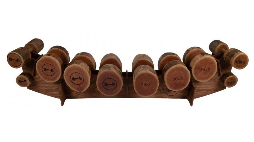 Dumbbells by Design Elite Range - Full Set of Dumbbells with Stand