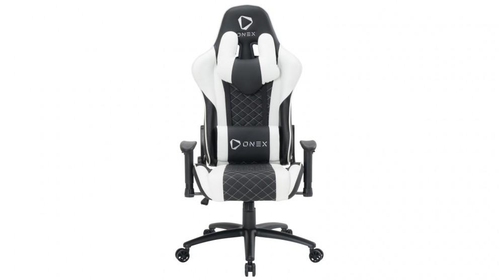 ONEX GX3 Gaming Chair - Black/White