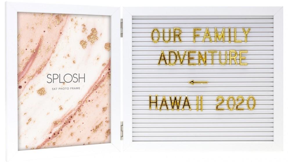 Splosh Dusk 5x7 Letterboard Frame