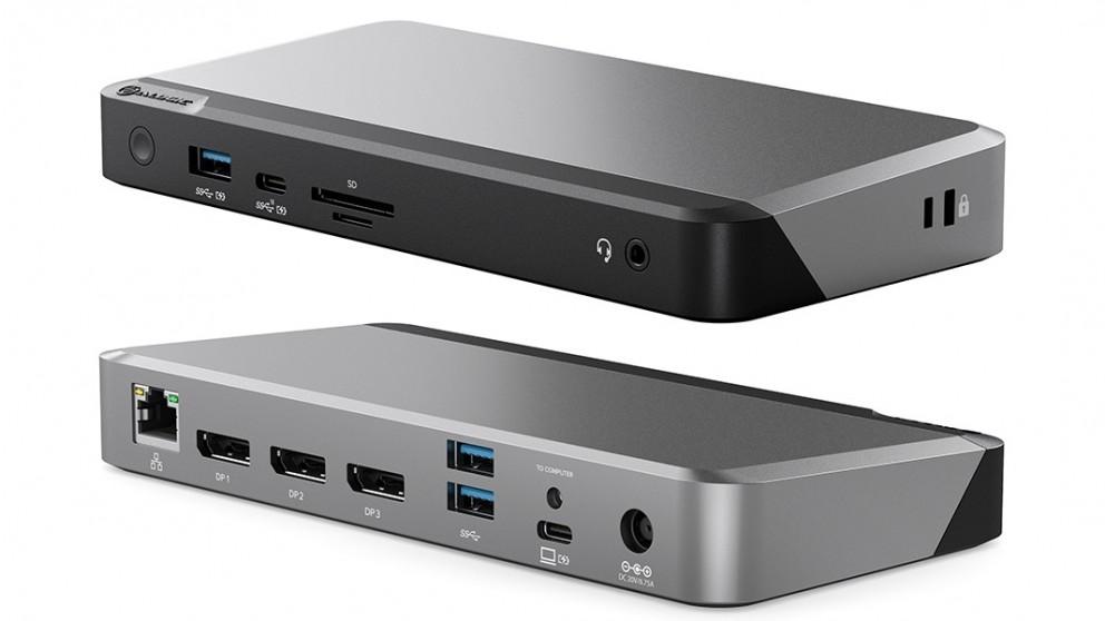 Alogic MX3 USB-C Triple Display 4K Docking Station with 100W Power Delivery
