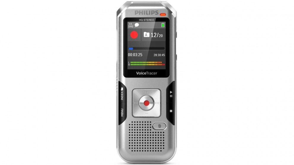 Philips DVT4010 Voice Tracer Audio Recorder
