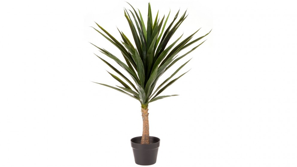 Cooper & Co. Artificial Yucca Home Decor Faux Plant in Pot Indoor - 90cm