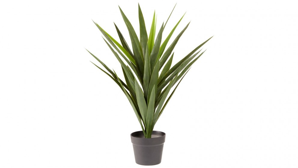 Cooper & Co. Artificial Yucca Home Decor Faux Plant in Pot Indoor - 75cm