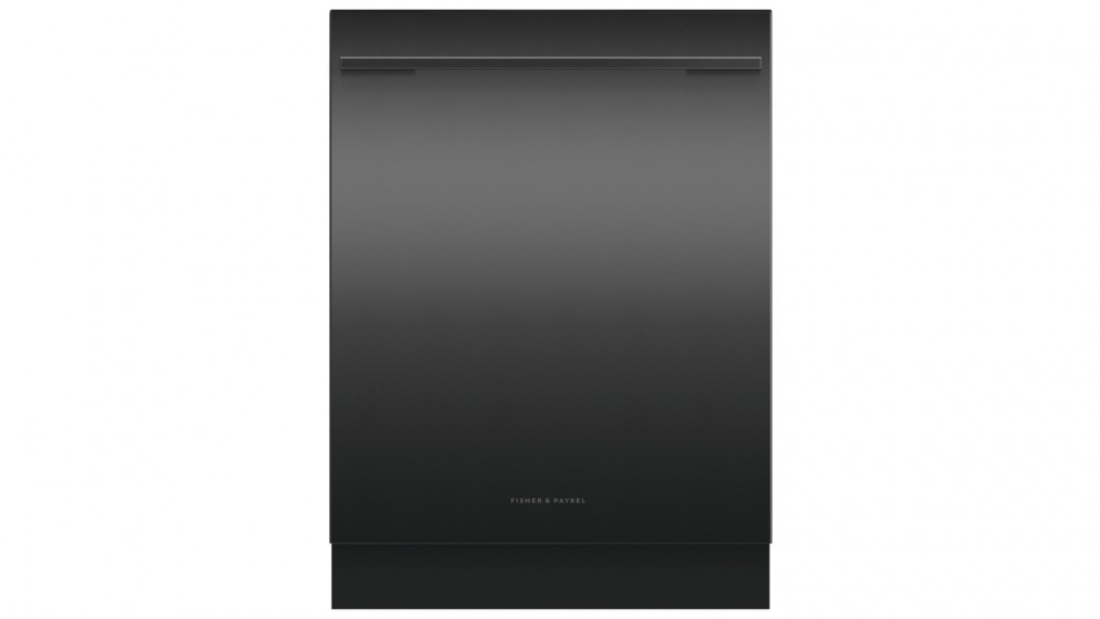 Fisher & Paykel 15-Place Setting Built Under Dishwasher with Handle - Black