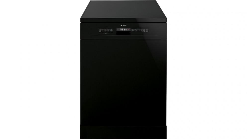 Smeg 14 Place Freestanding Dishwasher - Black