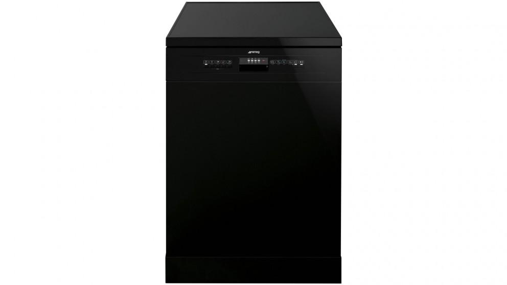 Smeg 60cm 14 Place Setting Freestanding Dishwasher - Black