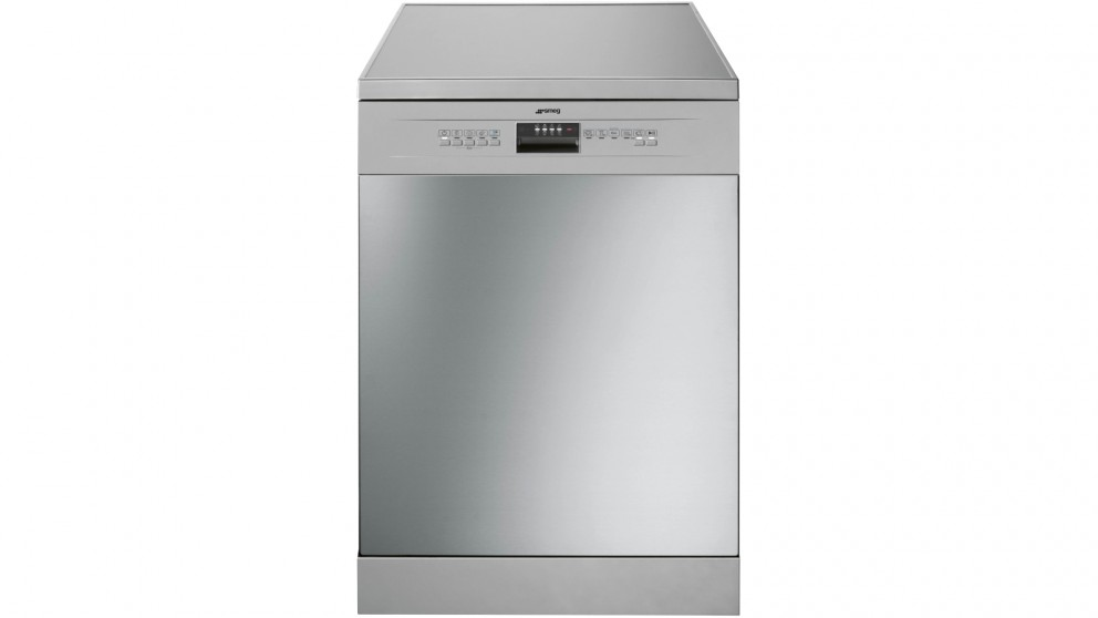 Smeg 60cm 14 Place Setting Freestanding Dishwasher - Stainless Steel